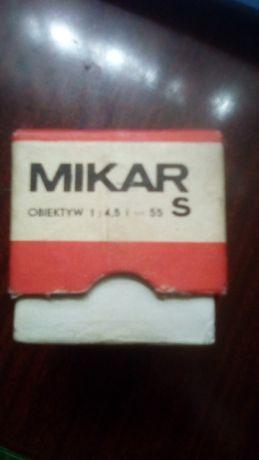 Объектив Mikar 1:4,5=55 S