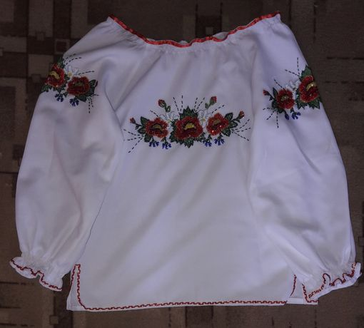 Вишиті сорочки на вік 8-12 років