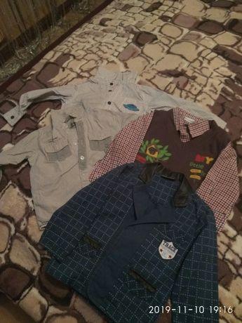 Продам рубашки на хлопчика