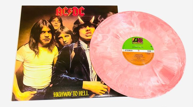 AC/DC – Highway To Hell (splatter vinyl) limited edition