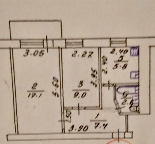 Реальная 2 комнатная на Фурманова