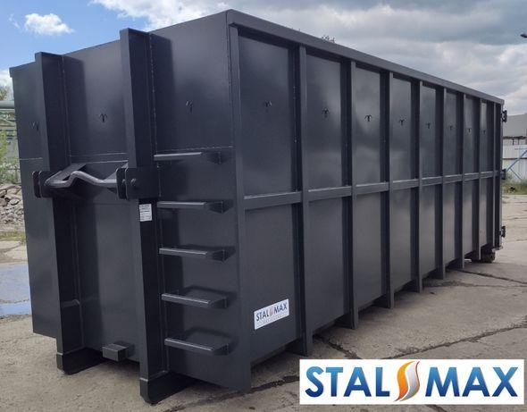 Kontener hakowy 33, STAL-MAX, transportowy, na złom, odpady, hakowiec
