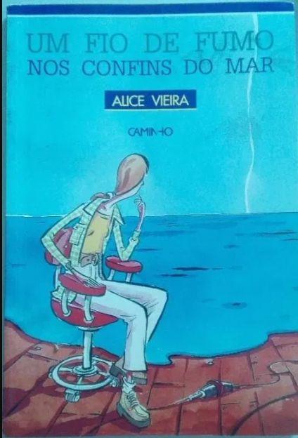 """""""Um Fio de Fumo nos Confins do Mar"""" de Alice Vieira Arcozelo - imagem 1"""