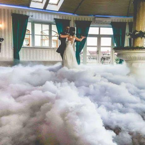Dekoracje napis LOVE dekoracje imprezy okolicznościowe ciężki dym