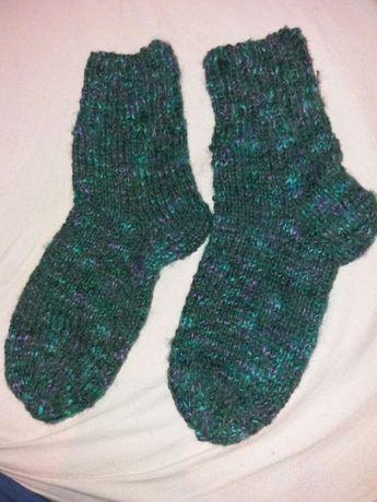 Вяжу носки тапочки на заказ за 2 дня