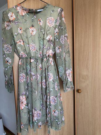 Сукня в квіточки