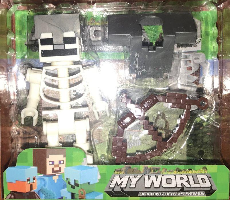 Figurka Minecraft Szkielet dla Dzieci Zabawka