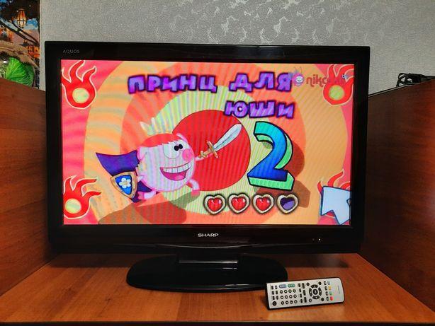 """Телевизор SHARP 32"""" дюйм в рабочем сомтоянии"""
