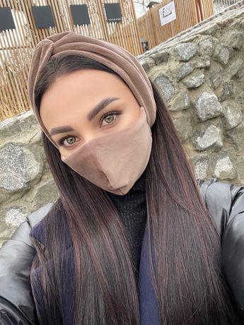 Комплект, набор маска+повязка, ОПТ, чалма