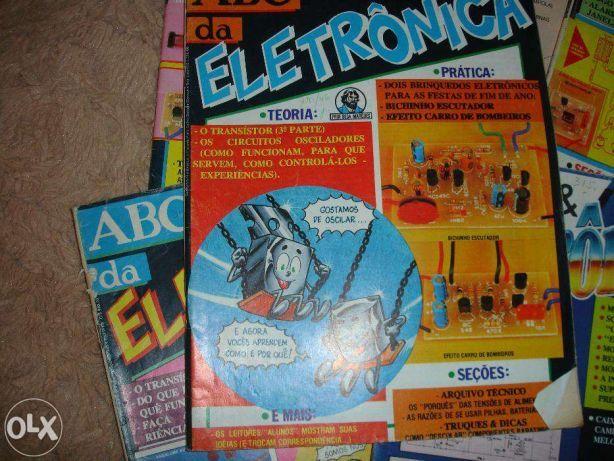 Vendo conjunto de revistas de ABC electrónica