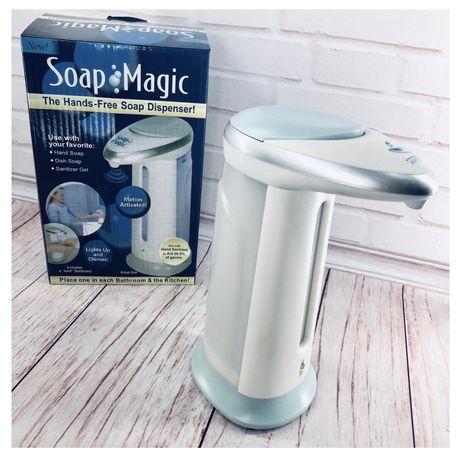Сенсорная мыльница для жидкого мыла Soap Magic