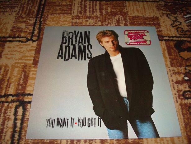 Płyty winylowe Bryan Adams -Yuu Want IT You Got IT