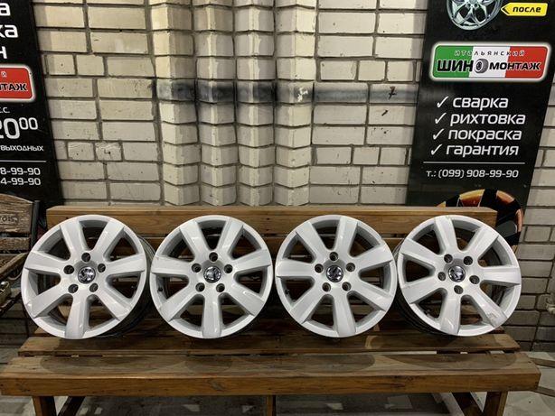 99 Оригинальные Литые диски Volkswagen Touareg 5/130 r17