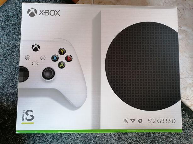 Xbox series S como nova