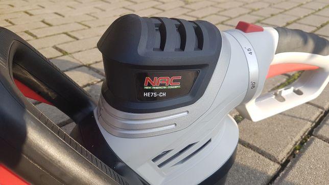 Nożyce elektryczne do żywopłotu, tuji NAC 750W 61CM PARAGON