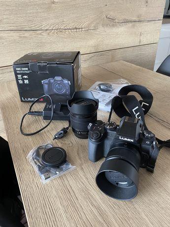 Panasonic lumix g80 i dwa obiektywy