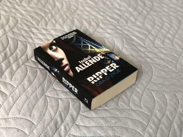 "Książka ""Ripper. Gra o życie."" Isabel Allende"