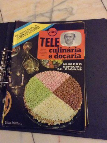 54 Fascículos de Teleculinária e doçaria