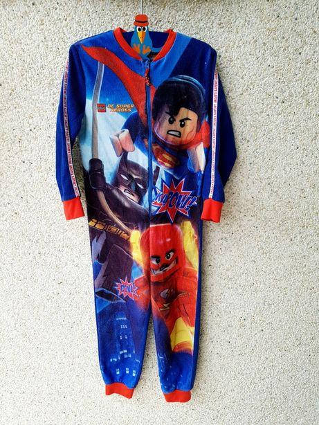 Пижама,слип,кигуруми,флисовый человечек 5-6лет