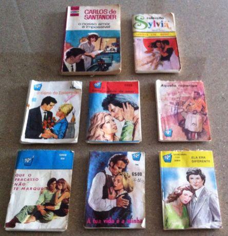 lote de livros vintage de bolso