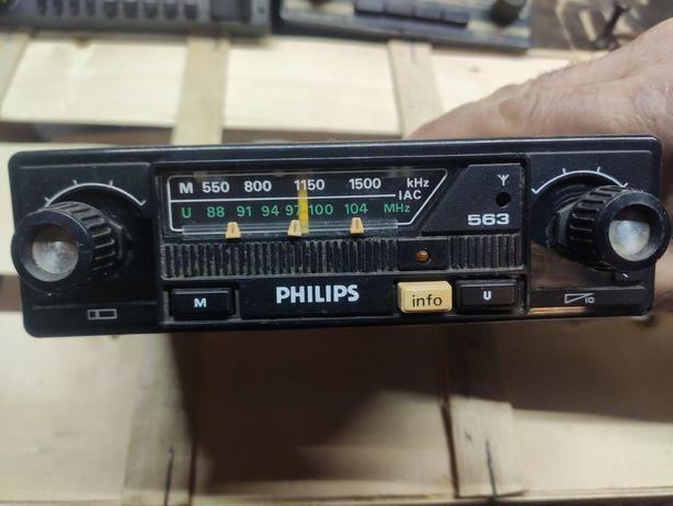 Radio samochodowe Philips 563