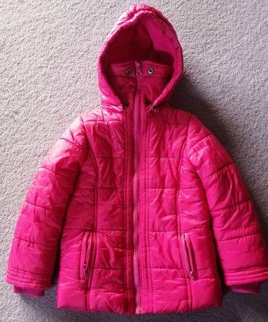 Kurtka zimowa dla dziewczynki r. 104