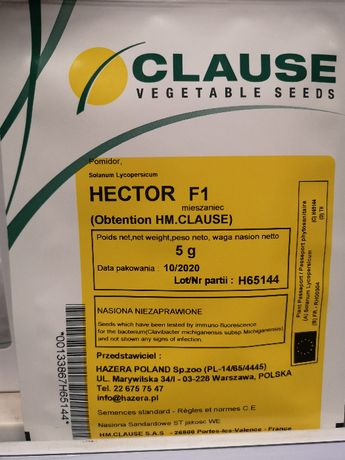 Pomidor HECTOR F1 Clause 5g !!!