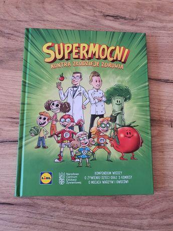 Książka Supermocni kontra złodzieje zdrowia Lidl Kuchnia