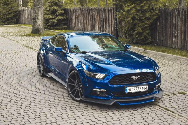 Ford Mustang ss tuning