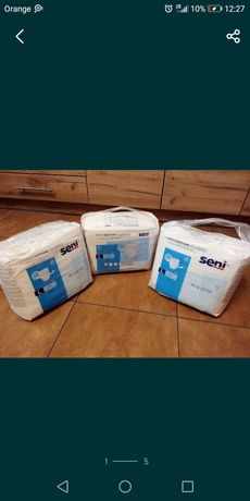 Pieluchomajtki SENI dla dorosłych L-30 sztuk