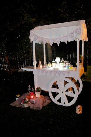 Candy Cart - Carrinho/Carro para eventos e festas