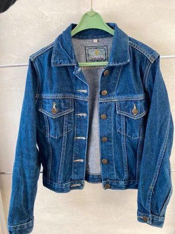 Kurtka jeansowa w stylu vintage