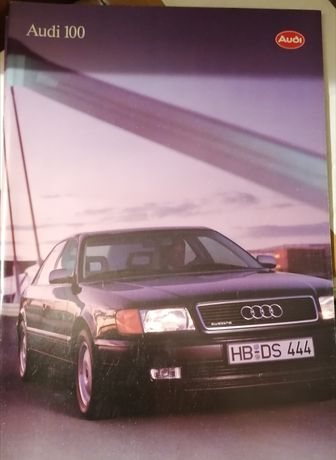Prospekt Audi 100