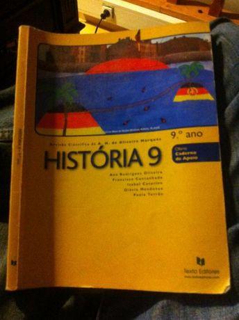 Vendo livro de História 9 ano