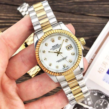 Zegarek Rolex Date Just 067 Pearl Silver-Gold-White