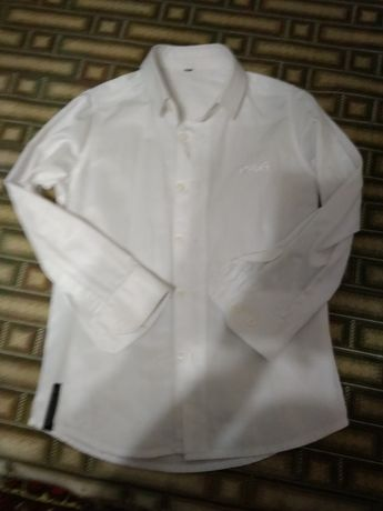 Рубашка школьная 8- 9 лет