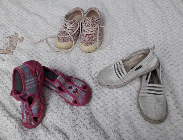 Zestaw Buty pantofle trampki Zara Befado r.26