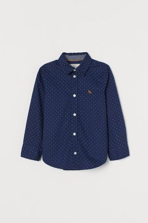 Новая рубашка HM р.116