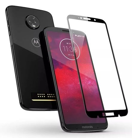 Motorola z3 и z3 play защитное стекло