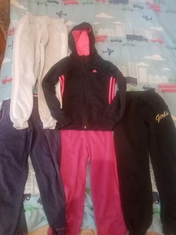 Штани спортивні для дівчинки кофта спортивне