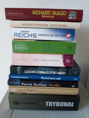 Zestaw książek. Książki różne/ kryminały, obyczajowe, powieści