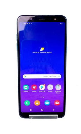 Telefon SAMSUNG GALAXY A6+ Zbity ekran