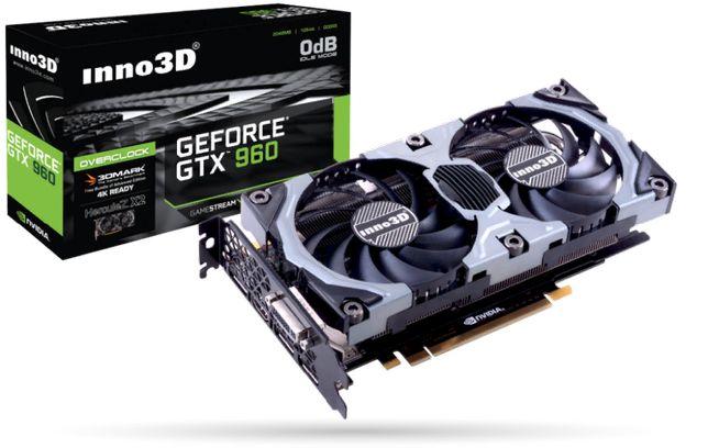 GeForce GTX960 4gb inno3D