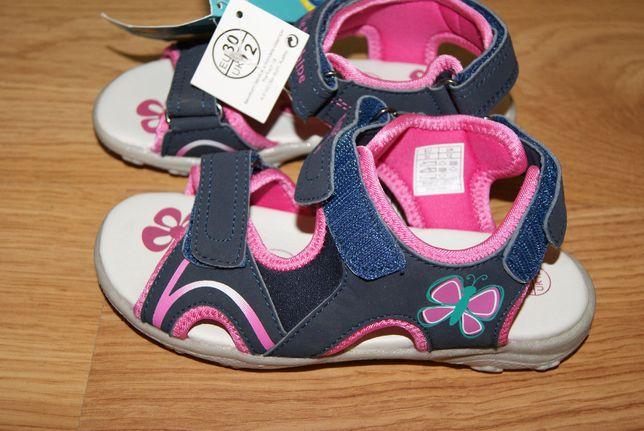 Nowe sandałki rozmiar 30 wkładka 19,1 cm