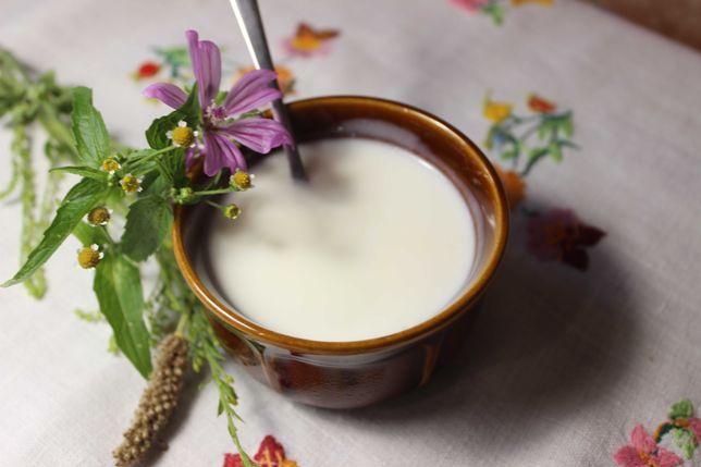 Naturalny jogurt oraz kefir domowej produkcji