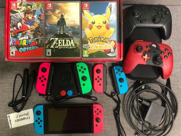 Nintendo Switch Обновлённая версия 2 ревизия, Zelda Breath of the Wild