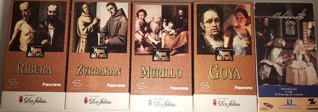 Filmes VHS Pintores Espanhóis