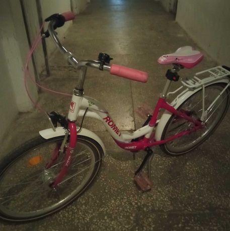 Rower dla dziewczynki ROMET