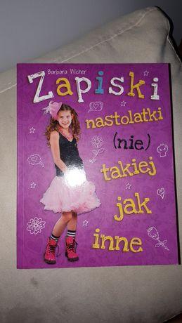 Książka pt. Zapiski nastolatki (nie) takiej jak inne