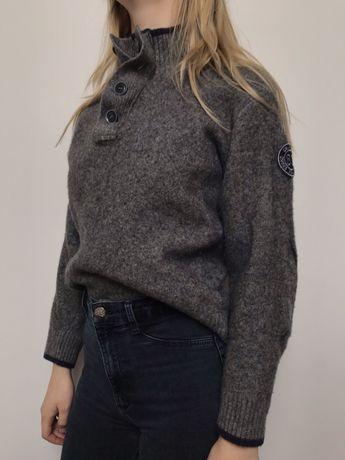 Wełniany sweter golf Calamar S